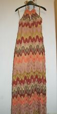 Summer Party beach maxi long dress from River Island size 12