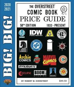 BIG! BIG! OVERSTREET 2020 2021 COMIC BOOK PRICE GUIDE VOL #50 SC Dealer Edition