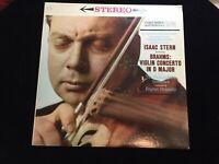 Isaac Stern BRAHMS Violin Concerto in D Maj ORMANDY Columbia 6-eye ML 5486 EX