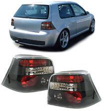 VW GOLF MK4 MK 4 1997-2003 BLACK REAR TAIL BACK LIGHTS