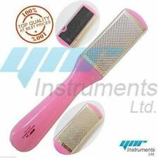 Callus Remover Hard Skin Foot Rasp File Scrubber Pedicure Tool With 10 Blades UK