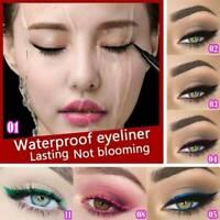 12 Colors Natural Long Lasting Waterproof Eyeliner Pen Liquid  Eye Liner Pencil