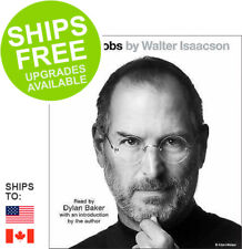 Steve Jobs by Walter Isaacson (2015, CD, Abridged) NEW, Dylan Baker