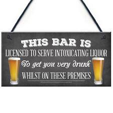 Pub Home Bar Licensee Sign Man Cave Plaque Shed BBQ Garden Sign Gift For Men