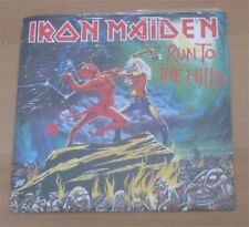 "IRON MAIDEN: Run to the hills / Total eclipse 7"" Red Vinyl UK 2002 STILL SEALED"