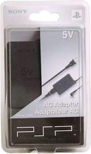 New ORIGINAL AC Adapter for Sony PSP  Wall Charger - FACTORY SEALED - RARE