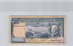 Angola 1000 Escudos 10.6.1970 n°39aA070420 Pick 98