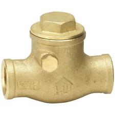 1 Inch Brass Swing CxC SWEAT Check Valve  Plumbing Fitting