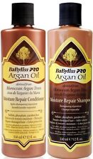 BABYLISS PRO ARGAN OIL MOISTURE REPAIR SHAMPOO AND CONDITIONER 350ml