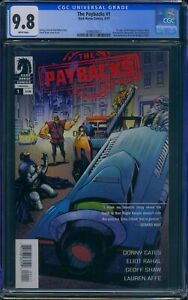 The Paybacks 1 CGC 9.8 1st app. of the Paybacks