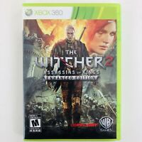 The Witcher 2 Assassins of Kings - Enhanced Edition (Xbox 360) Manual/Map Includ