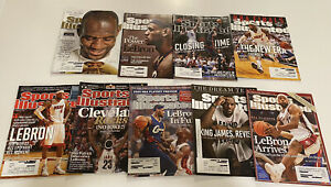 Sports Illustrated SI Lebron James LBJ King Cover Lot of 9 Cleveland Miami
