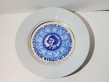 Vintage 1974 Nicolaus Copernicus Porcelain Plate Polish Made In Poland
