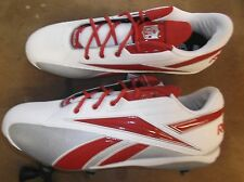 New Reebok NFL Thorpe Low D football low cut cleats Mens 16 red lacrosse #37