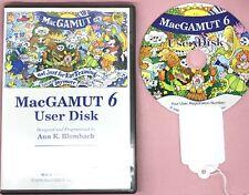MacGamut 6 User Disk Not Just For Ear Training Anymore Cd-Rom.