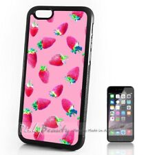 ( For iPhone 4 / 4S ) Back Case Cover P11508 Strawberry