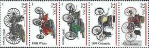 Etats-Unis 2679-2683 bande de cinq (complète edition) neuf avec gomme originale