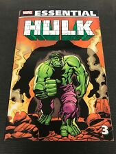 Essential Marvel Comic Vol 3 Incredible Hulk 118-142 Capt Marvel 20-21 Avenger88