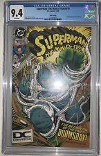 Superman Man of Steel 18 CGC 9.4 Fifth Print