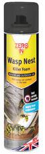 Zeroin ZER904 Wasp Nest Killer Foam 3 Cans 300ml