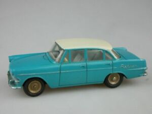 Dinky Toys France 554 1/43 Opel Rekord türkis tourquoise creme 116598