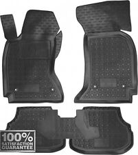 Rubber Carmats for Audi A4 B5 1995-1999 All Weather Floor Mats Fully Tailored