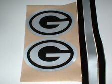 GREEN BAY PACKERS `BLACK ICE` FULL SIZE FOOTBALL DECALS