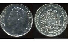 VENEZUELA  2 bolivares 1989  ( aus )