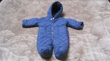 Baby Ralph Lauren Quilted Footed Bunting Outfit (Snowsuit)- Size 3M(0-3 mo)