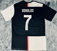 Cristiano Ronaldo Signed Juventus Jersey This Season Auto BAS Beckett Witnessed