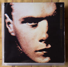 "U2 2 x 7"" vinyl The Unforgettable Fire 45 giri BONO UK ISD 220"