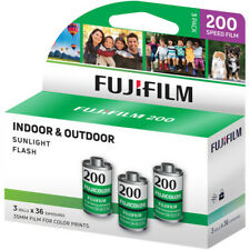 Fujifilm Fujicolor 200 Color Negative Film (35mm Roll Film,36 Exposures,3 Rolls)