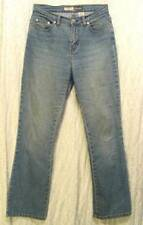 Mud WASHED Thin MID Rise Boot Cut ST JOHN'S BAY Stretch Denim Jeans! 6P Short