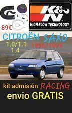 Kit admisión K&N 57-0204 CITROEN SAXO / PEUGEOT 106