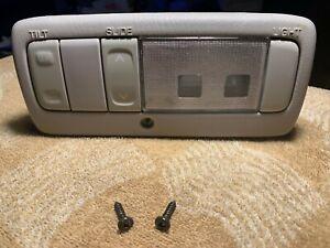 2007 Toyota Matrix Pontiac Vibe interior dome light sunroof control switch