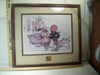 DUCKS UNLIMITED SHERRIE RUSSELL MELINE CALIFORNIA 1989 -  SIGNED 390/2500
