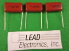 qty3 CDE Capacitor DMF225J250E 2.2uf 250-volt 5% metalized poly film radial