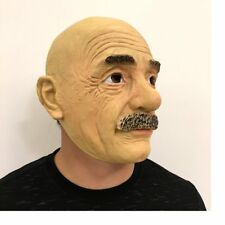 NEW Old man Nature Latex  Mask Full Face Props Cosplay Halloween Mask DG171