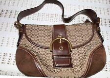 Authentic Coach 6818 Handbag Hobo Purse G04J-6818 Signature Flap Soho Bag