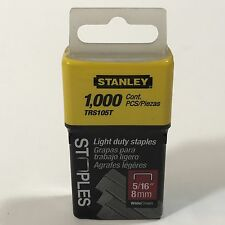 """Stanley Hand Tools TRA205T 5/16"""" Light Duty Staples"""