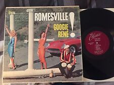 "GOOGIE RENE ""Romesville"" DG 59 Mono CLASS Jazz Jack Costanzo Plas Johnson EX+"