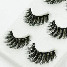 New Handmade 100% Real Mink Luxurious Natural Thick Soft Lashes False Eyelashes