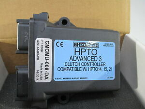 PT TECH HYDRAULIC PTO CLUTCH CONTROLLER CMCMU-008-DA SANDVICK EQUIPMENT