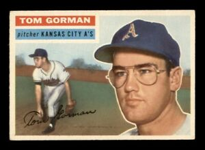 1956 Topps Set Break # 246 Tom Gorman EX *OBGcards*