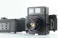 [Exc+5] Mamiya Universal Press + Sekor 100mm F3.5 + film back ×3 from Japan 175