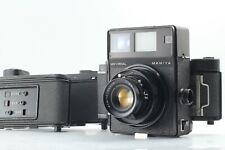 [Exc+5] Mamiya Universal Press + Sekor 100mm F3.5 + film back ×3 from Japan 175
