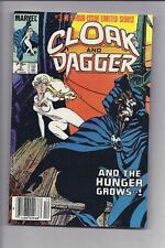 High Grade Canadian Newsstand Edition $0.75 Price Cloak and Dagger #3 Mini