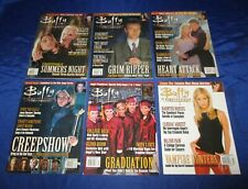 Buffy the Vampire Slayer Magazine (1998) #1-12 Sarah Gellar Angel Whedon VF-