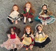"Lot Of Six Dolls- 7"", Some Are Symbol Of Quality 7013 Dolls"