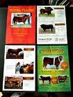 BULL+CATTLE+SALES+BROCHURE+ADVERTISING+AUSTRALIA+BULLS++cow+ephemera